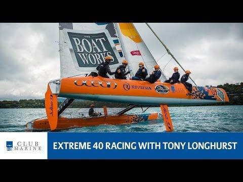 Extreme 40 racing with Tony Longhurst