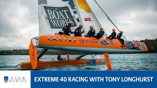 Extreme 40 racing with Tony Longhurst