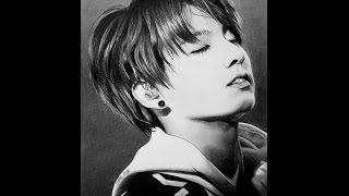 Jungkook (정국) ♥ BTS ♥ ARMY ♥ Speed Drawing ♥ 방탄소년단 ♥ K-pop
