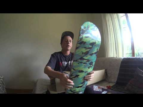 Unboxing-2 Globe Skateboard Decks