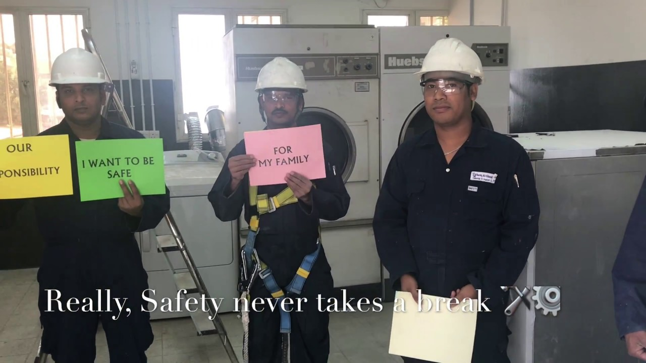 QHSE Safety Moment Video (Tariq Alghanim catering Co, Kuwait )