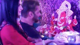 Baixar Salman Khan and Katrina Kaif PERFORM GANESH AARTI At Arpita Khan's House