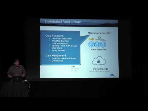 Demo Theater [Maginatics] Software NAS for OpenStack