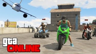 GTA 5 Гонки: Паркур На Мотоциклах!