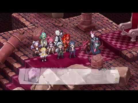 Disgaea 5 Postgame: Carnage Dimension Entry (Final map) + Trophy  