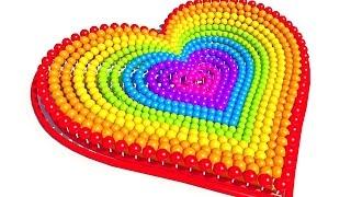 Сердечко.Учим цвета на английском. Развивающие мультики и обучающие видео обзоры детских игрушек