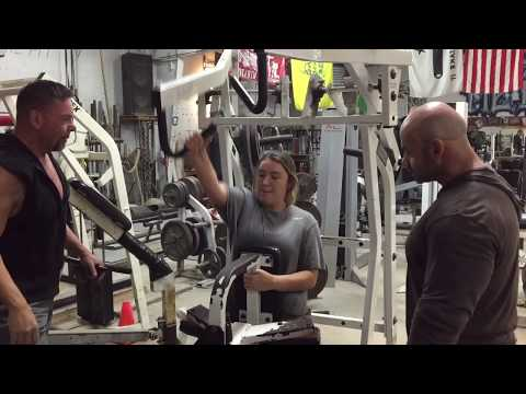 Branch Warren & Brian Dobson spotting my Daughter | BigJsExtremeFitness