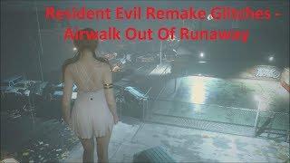 "Resident Evil 2 Remake Glitches - How To Airwalk Of ""Runaway"" (Ghost Survivors Glitches)"