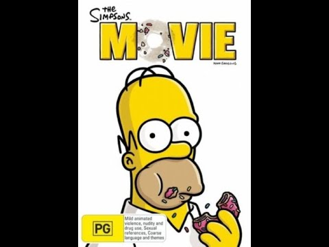 Opening To The Simpsons Movie 2007 Dvd Australia Youtube