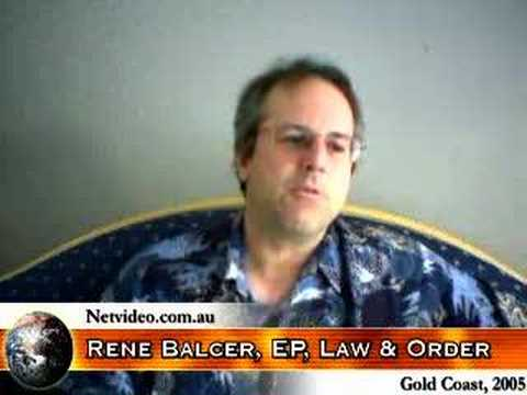"""Download Executive Producer of TV's """"Law and Order"""" on crime/justice"""