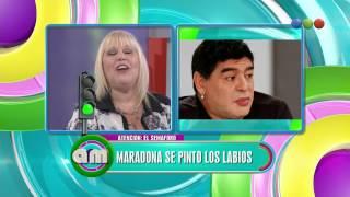 El Semáforo, Maradona Se Pintó La Boca - AM
