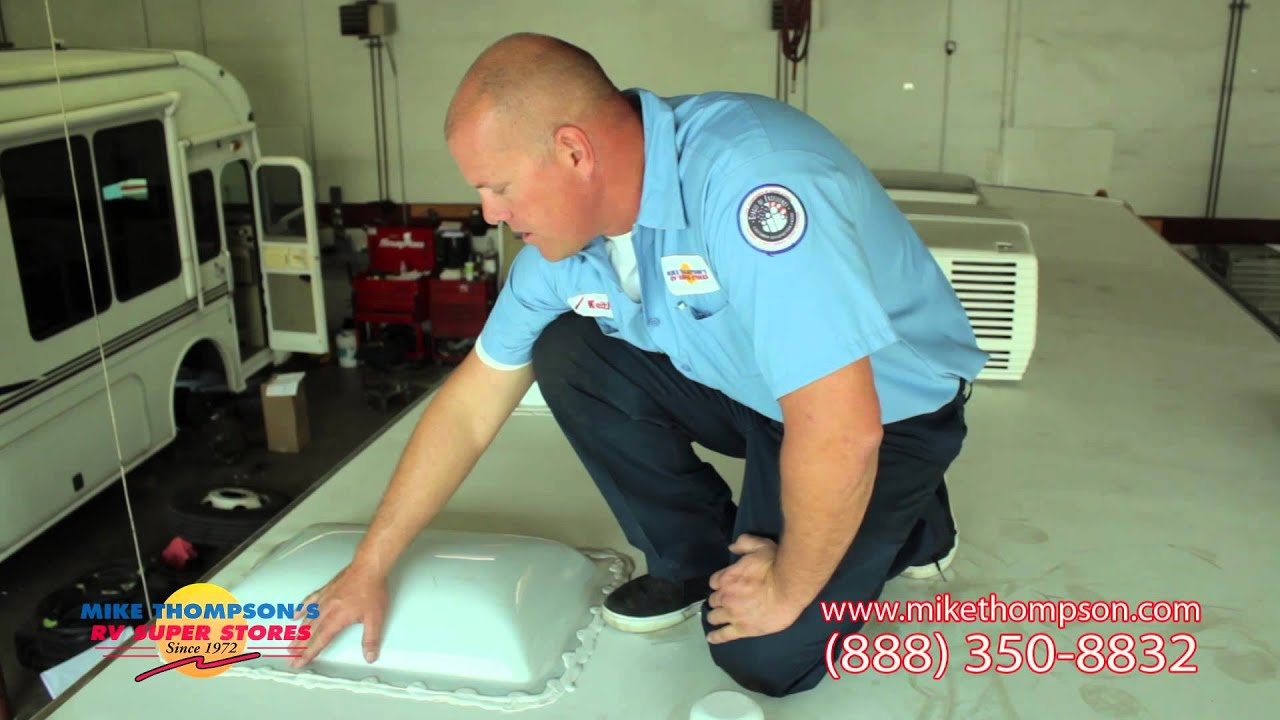 how to check your rv roof sealant hd by mike thompson s rv super