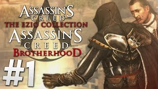 Video Let's Play | Assassin's Creed: The Ezio Collection (AC Brotherhood) - #1 (Full HD/Xbox One) download MP3, 3GP, MP4, WEBM, AVI, FLV November 2017