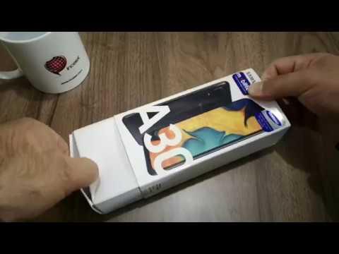 Samsung Galaxy A30 Kutu Açılışı