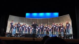"LTHS A Cappella Choir ""Moondance"""