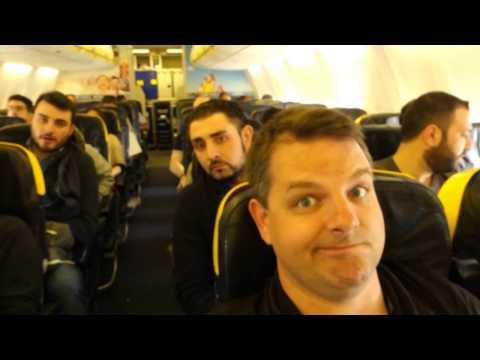 Fastest. Flight. Ever. Goodbye Marsaskala, Malta.  Hello Catania, Sicily!