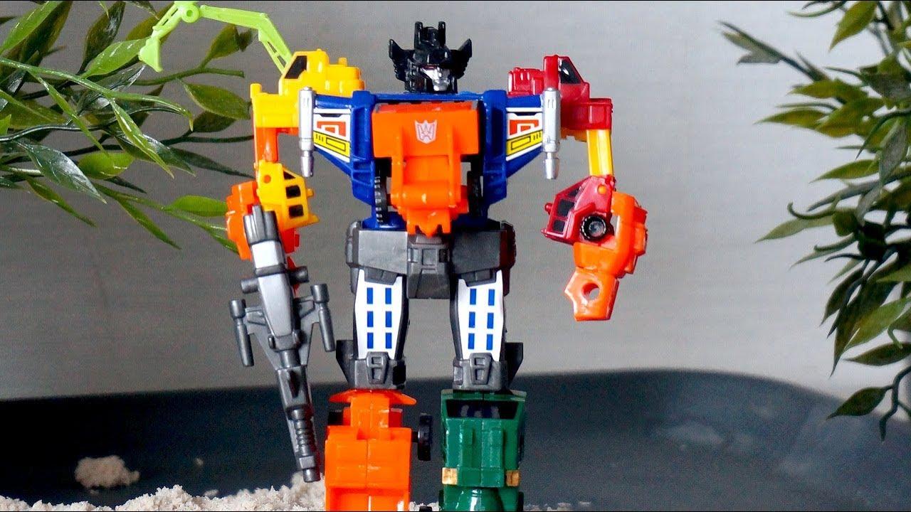 Робот - Трансформер. Строительные машины. Игрушка для ...