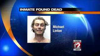 Middletown jail inmate found dead in cell