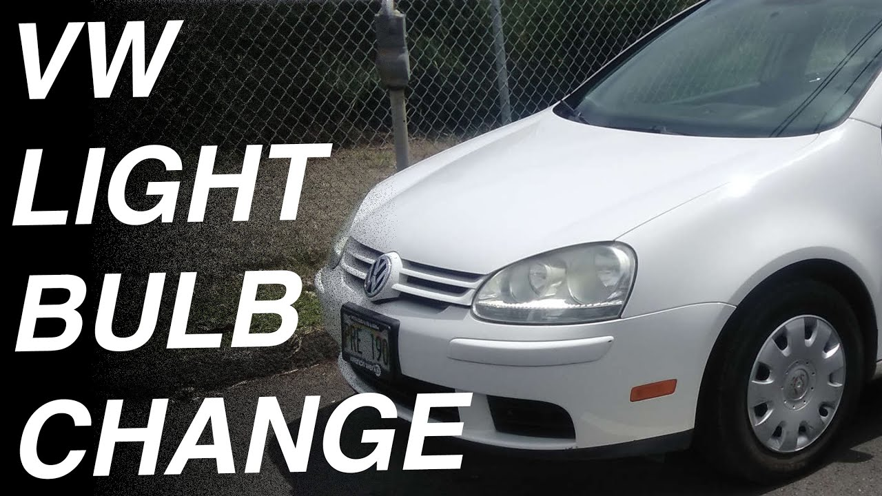 change  headlight bulb   volkswagen rabbit jetta gti passat golf