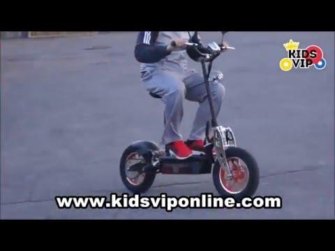www.kidsviponline.com Top Performance Dirt King 48V 1600w Electric Scooter