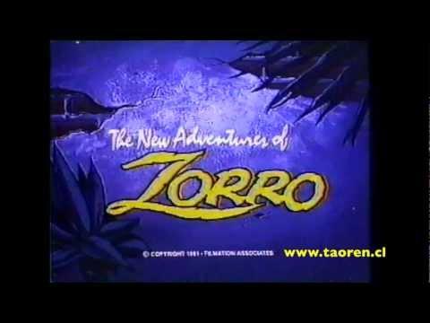 The New adventures of Zorro Opening (1981)