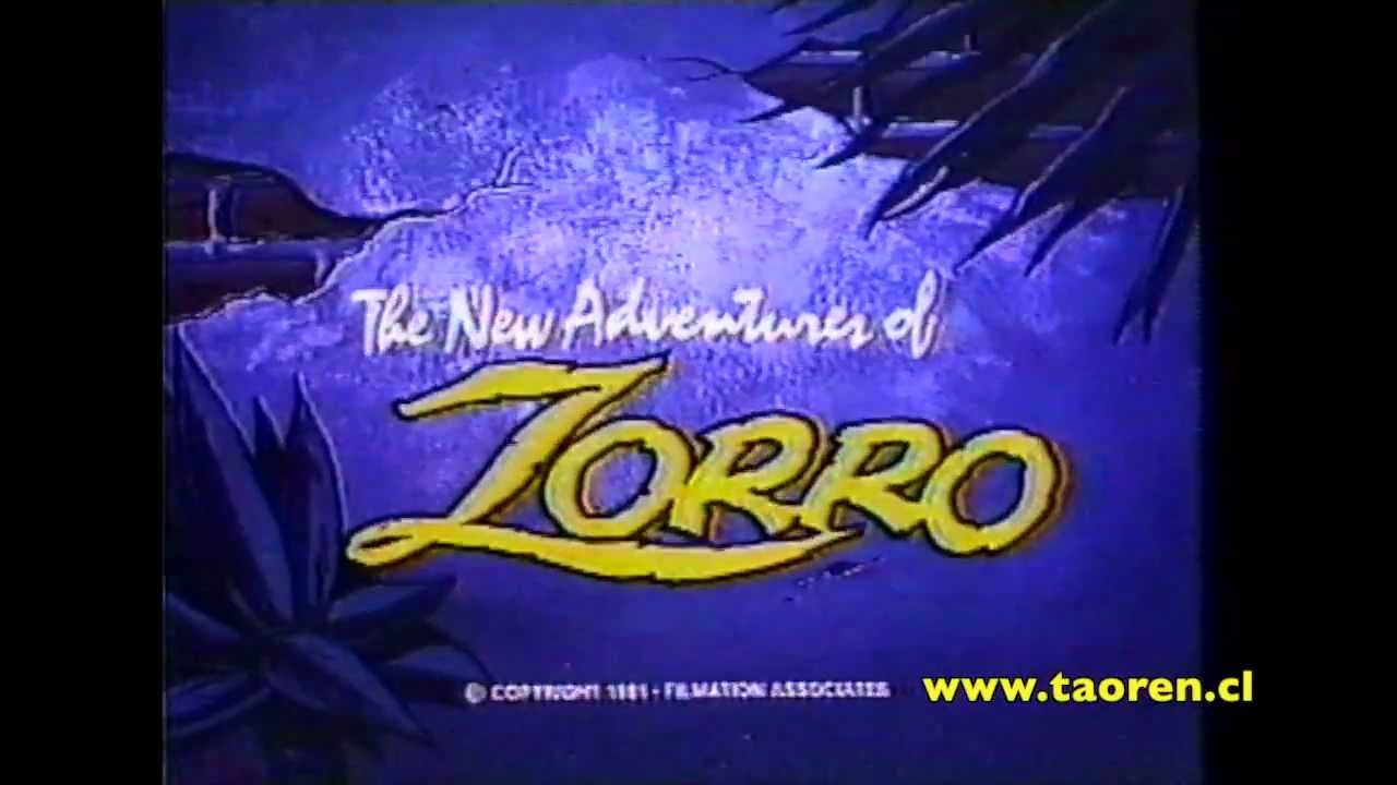 The New Adventures Of Zorro Opening 1981 Youtube