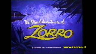 The New adventures of Zorro Opening (1981)