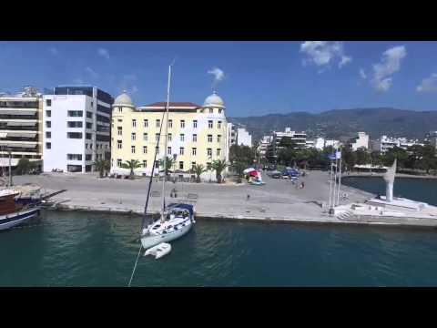 Volos port, Greece