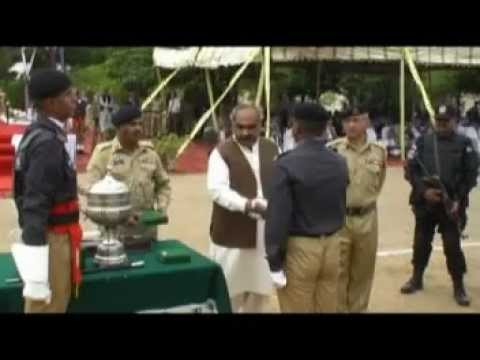 ANTI NARCOTICS FORCE PAKISTAN 1ST CADET TRAINING PASSING OUT PRADE