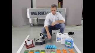 How to Remove Epoxy Paint & How To Polish Concrete Floors with Scarab Handheld Grinder