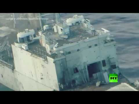سفينة في المحيط الهادئ تتعرض لقصف أمريكي وياباني وأسترالي  - نشر قبل 1 ساعة