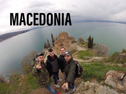 MACEDONIA TRIP - From Skopje to Ohrid