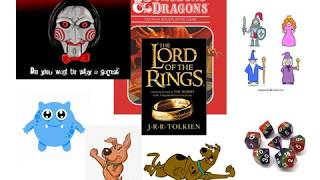 Game Genres - Adventure and RPGs