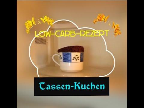 Tassen-Kuchen [Low-Carb-Rezept]
