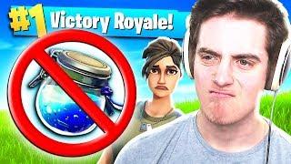 NO SHIELD CHALLENGE - Fortnite: Battle Royale
