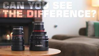 XEEN VS Rokinon $800 Lens VS $2,500 Lens!