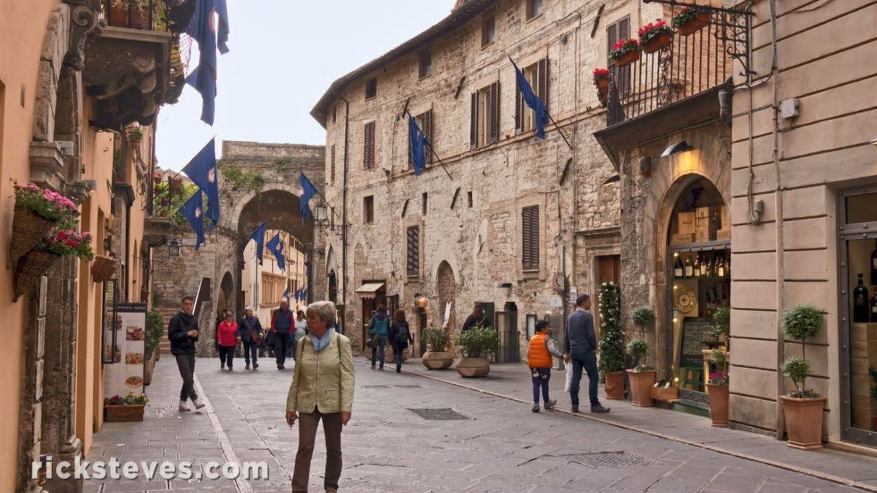 Assisi Italy Home Of St Francis Youtube