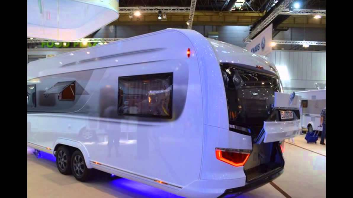 Knaus Tabbert Brings The Caravisio Caravan Concept To Reality Kind Of YouTube