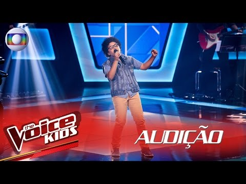 Arthur Lima canta 'Tempos Modernos' – The Voice Kids Brasil | 2ª Temporada
