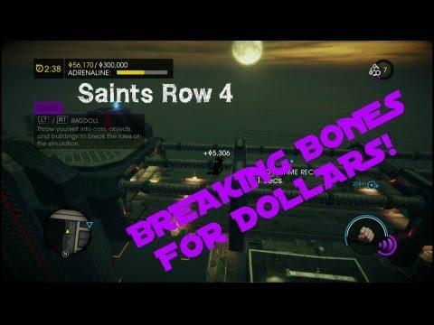 Saints Row 4; Breaking Your Bones for...