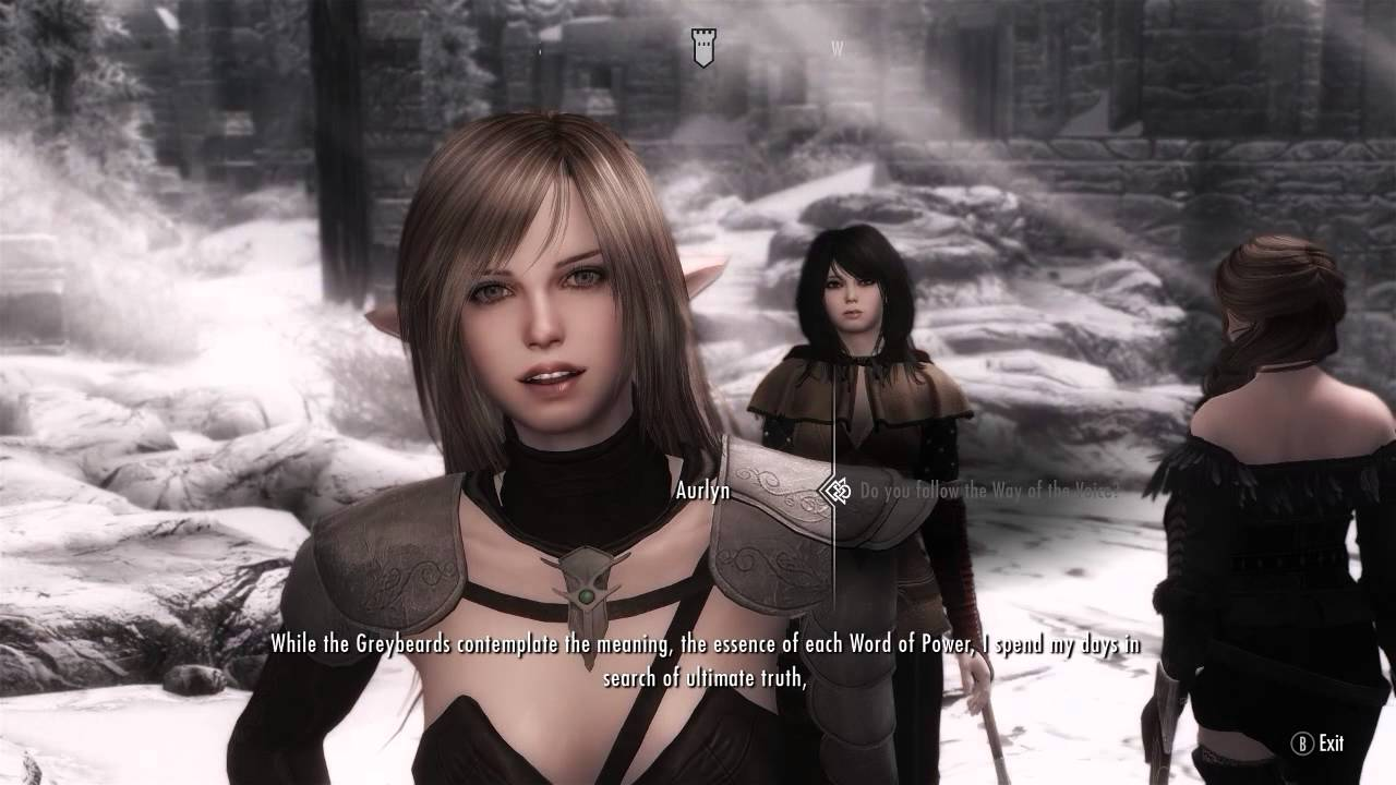 Skyrim Mods PC: VNPCs - Vilja as Vivace, Sofia as Hikari, Aurlyn as  Chaconne, Arissa as Toccata
