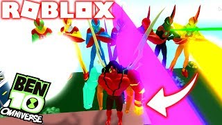 ROBLOX! -BEN 10 KEVIN 11 VS GIANT WHO WON? -BEN 10 ARRIVAL OF ALIENS INCREDIBLE SIMULATOR