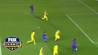 Jordi Mboula scores a beauty for Barcelona youth team | @TheBuzzer | FOX SOCCER