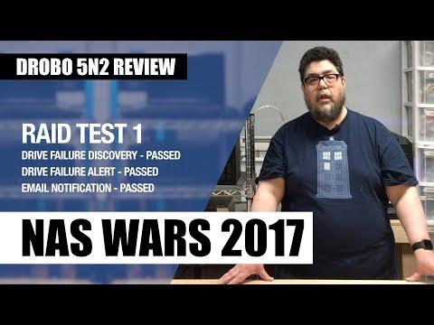 NAS Wars 2017: Stress-testing the Drobo 5N2 RAID - Review