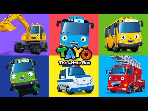 Hi! I'm Tayo the Little Bus