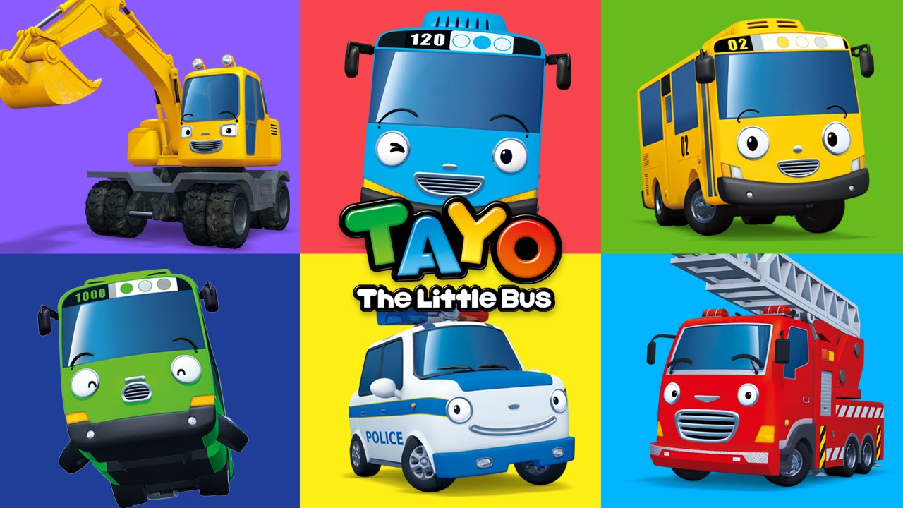 Im Tayo The Little Bus Youtube
