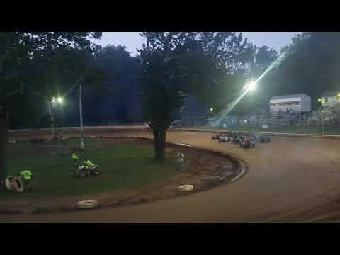 Mike Kalman - Shellhammers Speedway Heat - 8/30/17