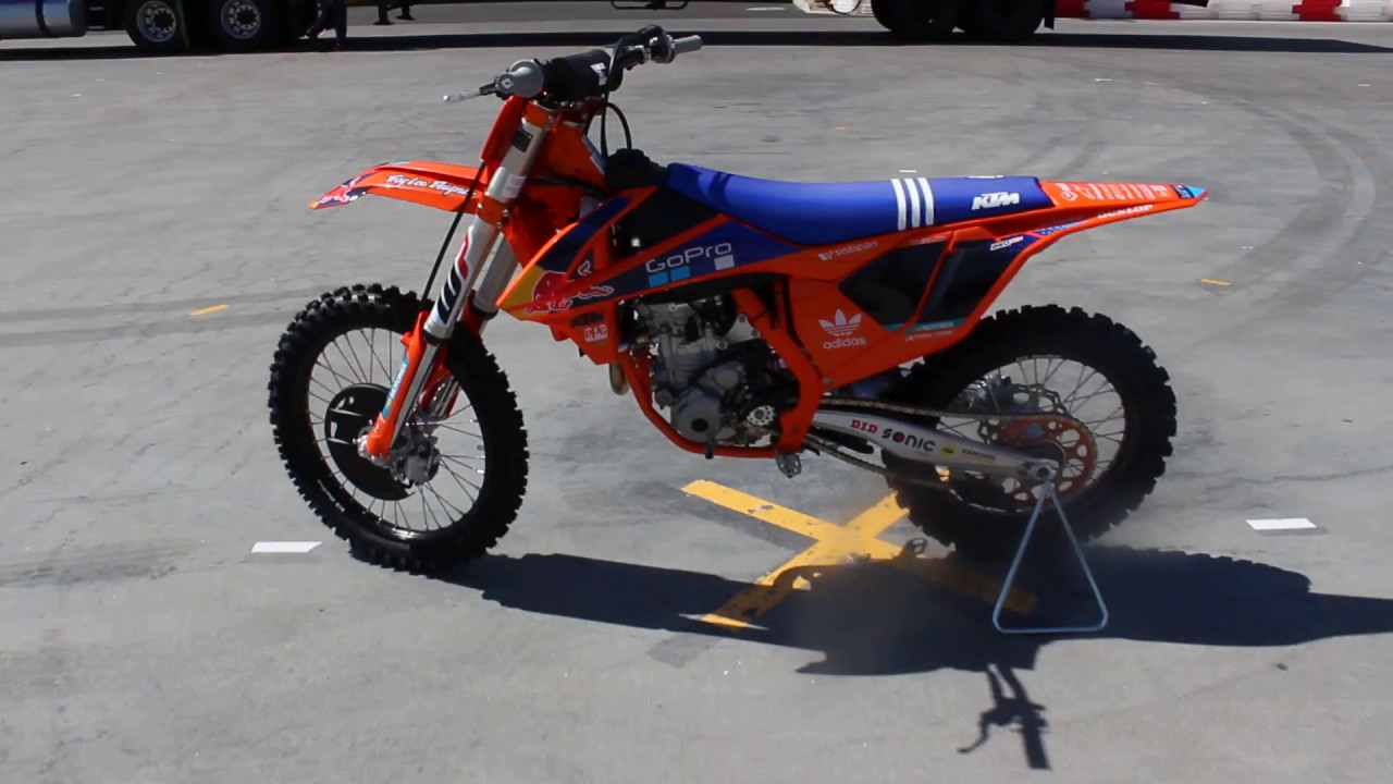 2017 ktm 250 sx f factory edition - youtube