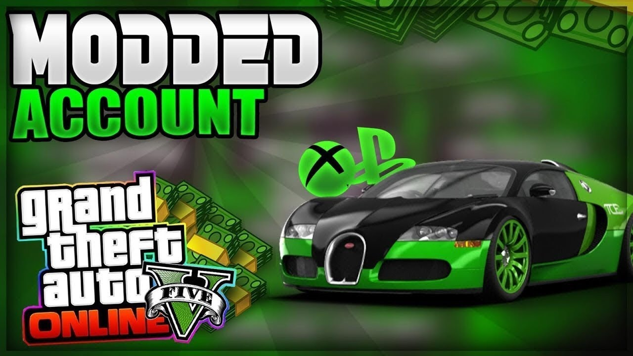 free modded accounts xbox one gta 5 email and password 2018