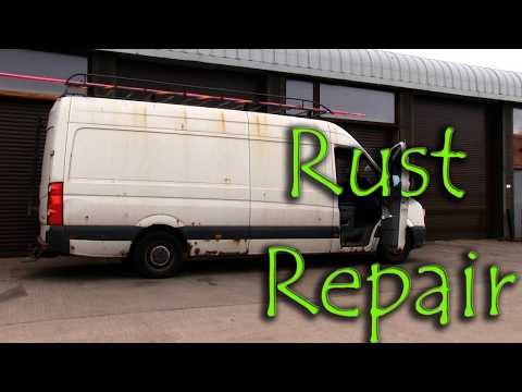 How To Repaint A Car, Bodywork Rust Repair, How To Fix Rusty Wheel Arches.Car Painting For Beginners